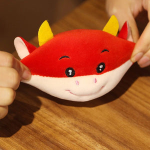 UwU Ox Pudding Plush ( ఠൠఠ )