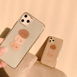 UwU Puppy Stack iphone Case (❍ᴥ❍ʋ)