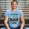 Pawsome Dad Personalized Tee