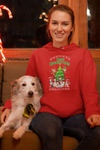 Christmas Themed Hoodie For Dog Lovers