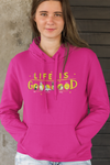 Life Is Goood Customized Dog Mom Hoodies