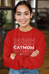 Cat Mom Personalized Sweatshirt