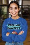 Feeling Pawfect Personalized Dog Mom Sweatshirt