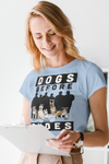 Dogs Before Dudes Personalized Dog Mom Tee