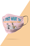 Stay At Home Customized Mask For Pet Lovers