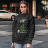 Merry Christmas Customized Dog Names Tree Sweatshirt