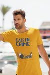 Customized Cat In Crime Tee