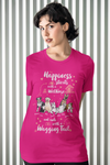 Happiness starts with.. Customized Dog Lover Tee