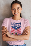 Honor The Brave Personalized Tee For Pet Lover