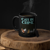 Customized Cat In Crime Mug