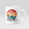 Personalized Best Dad Dog Mug For DogLovers