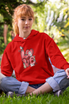 Customized Love Dog Mom Hoodies