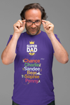 Personalized Super Dad Tee