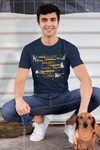 Customized Words Tee For Dog Lovers