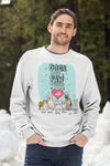Dogs Leave Paw Prints Sweatshirt For DogLovers