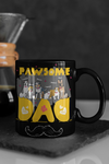 Pawsome Dad Personalized Mug