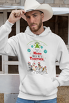 Its Magic When We're Together Hoodie For Dog Lovers