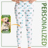 Personalized Abstract Leggings For Pup-Lovers