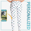 Personalized Dog-Themed Abstract Leggings