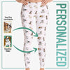Classic Typography Leggings For Dog Lovers