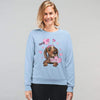 Kisses For Free Customized Sweatshirt For Dog Lover