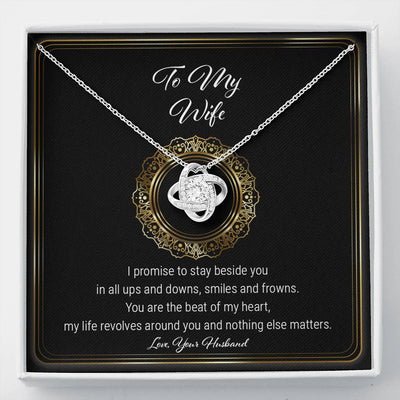 To My Wife - Stay Beside You - Necklace