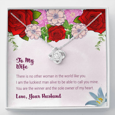 To My Wife - The Sole Owner Of My Heart - Necklace