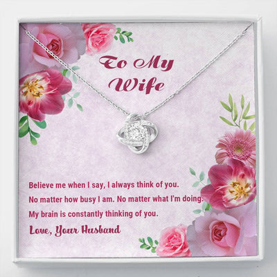 To My Wife - Thinking Of You - Necklace