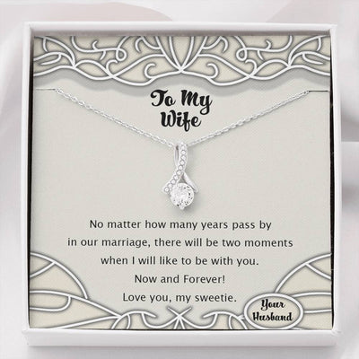 To My Wife - Two Moments - Necklace