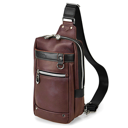GALLANT Shoulder Bag-Burgundy