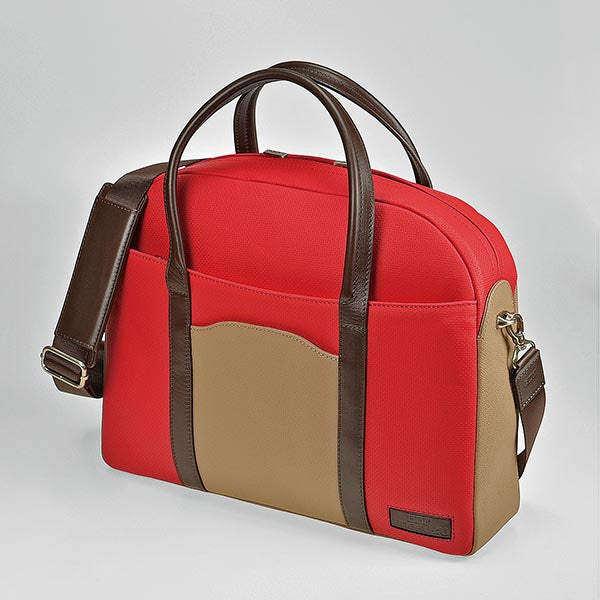 UNOFUKU Boston Bag-Red