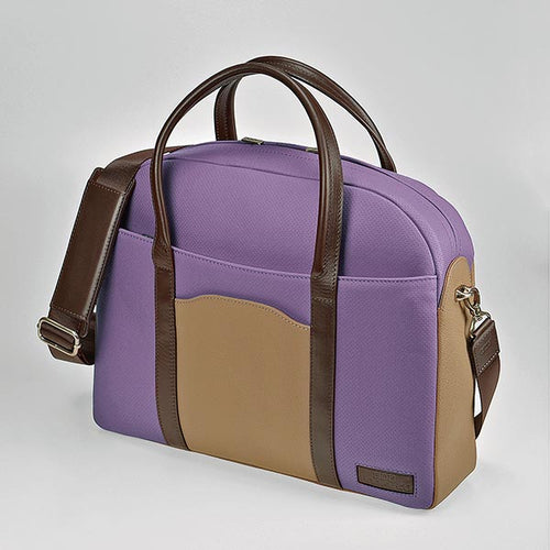 UNOFUKU Boston Bag-Purple