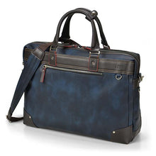 Load image into Gallery viewer, GALLANT Briefcase-Navy Blue
