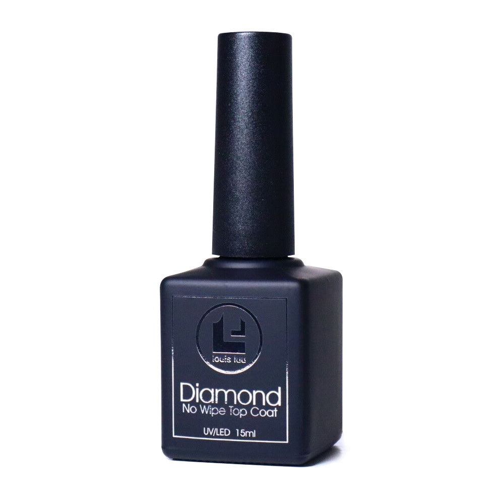 Diamond Super Shiny Gel Top - No Wipe