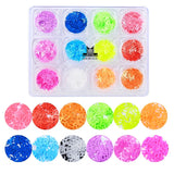 Neon Luxury Sequins Nail Art Decoration (12 Colors)