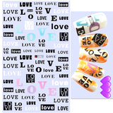 Love Nail Art Stickers