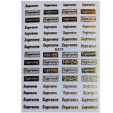 Supreme Nail Art Stickers