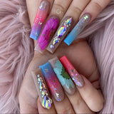 Dry Flowers Nail Art Decoration