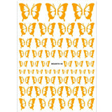 Butterfly Nail Art Stickers - 9 Colors
