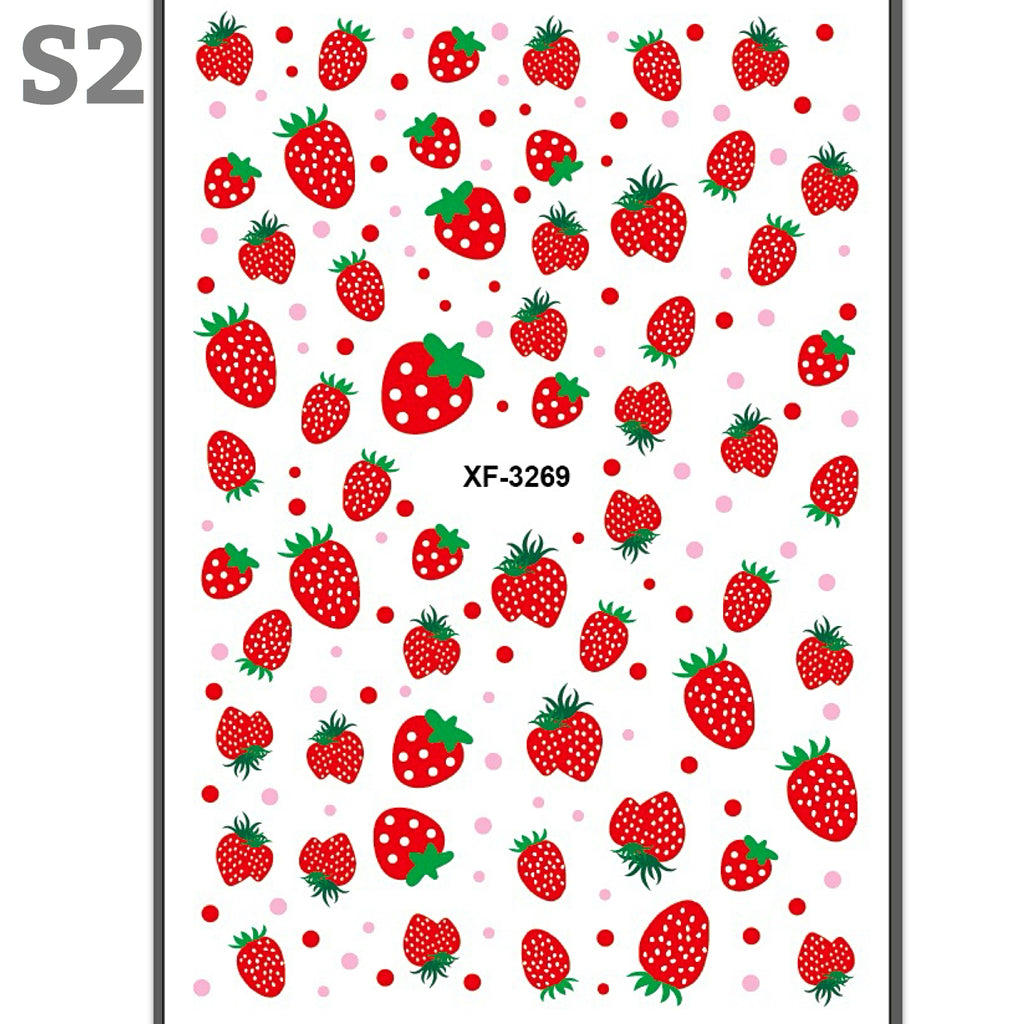 Fruit Nail Art Stickers