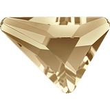Swarovski 2739 Triangle Beta Flat Back Crystal 5.8X5.3MM- 12 PCS