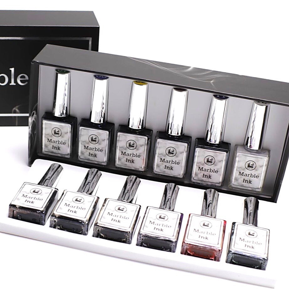 Marble Ink Collection- Set 12 Colors
