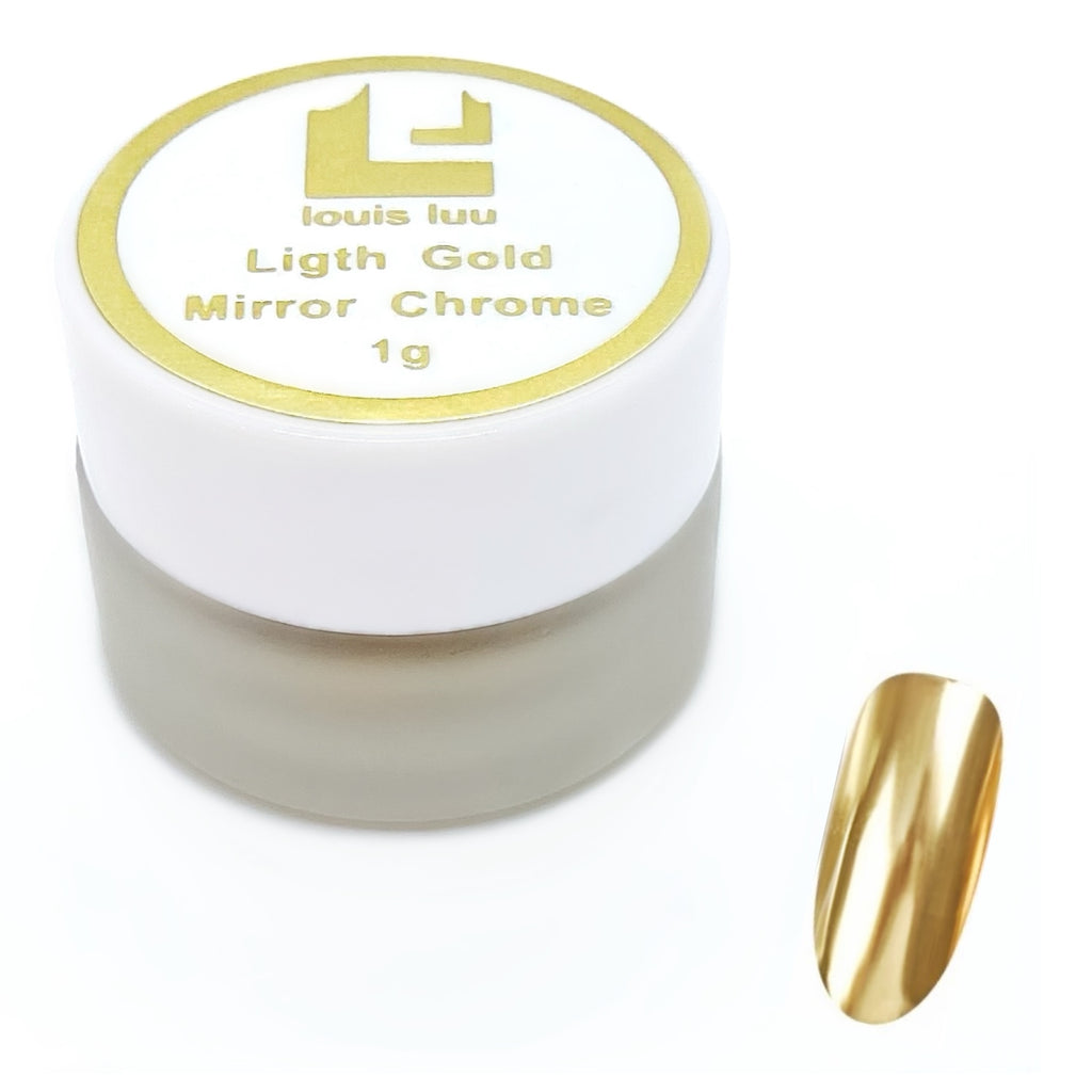Light Gold- Mirror Chrome
