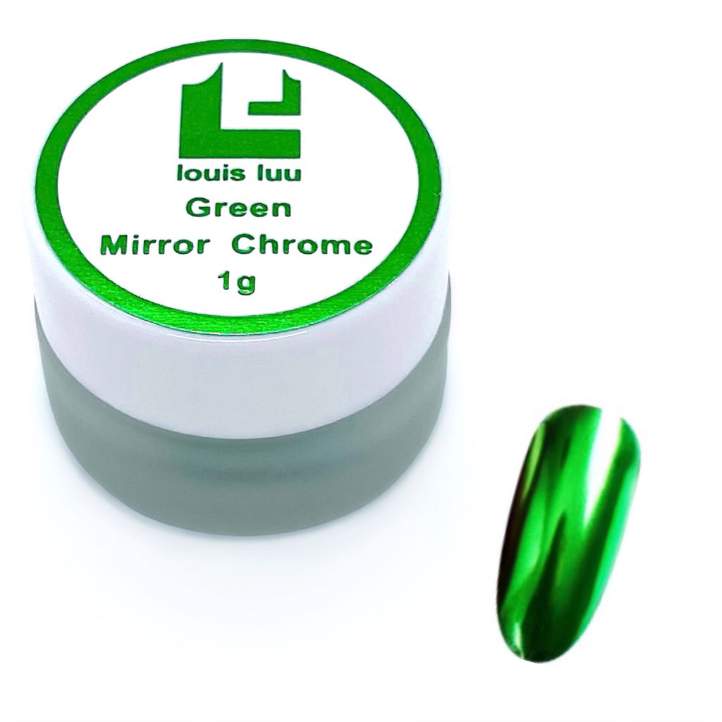 Green- Mirror Chrome