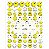 Happy Face Nail Art Stickers