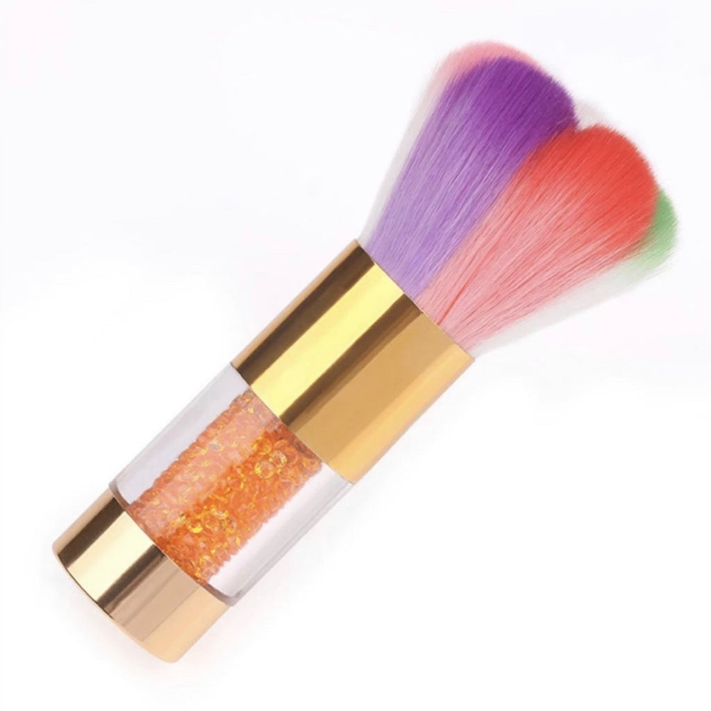 Rainbow Nail Dust Brush