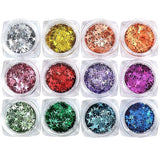 Glitter Set Super Shiny (12 Colors)