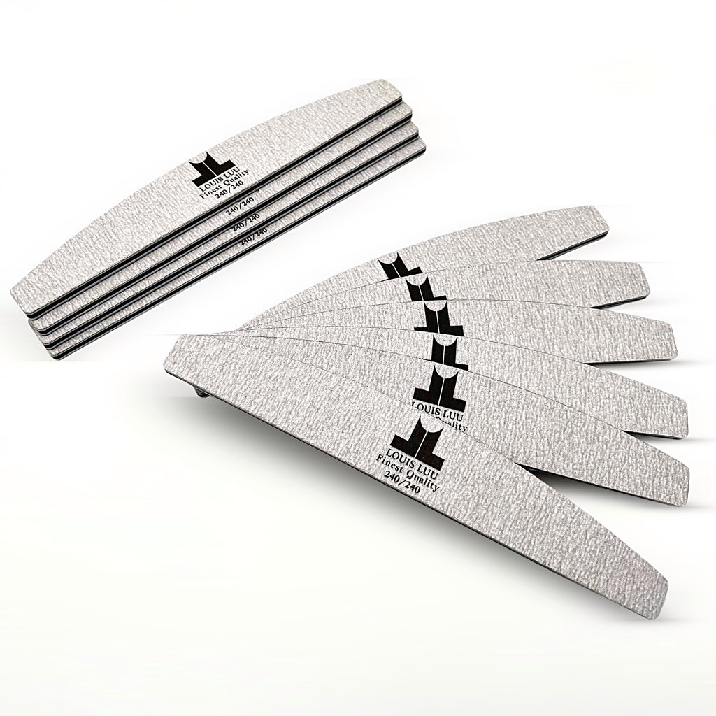 Louis Luu Finest Quality Nail Files 240/240 Grit (10 Pcs)