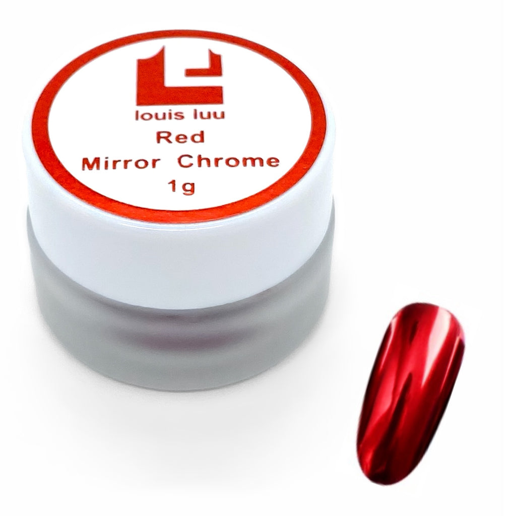 Red - Mirror Chrome