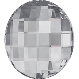 Swarovski 2035 Chessboard Circle Flat Back Crystal 6MM - 12 PCS